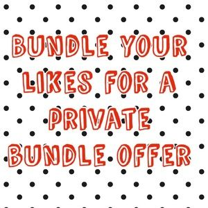 ❤️Bundles your Likes for a private Discount Offer