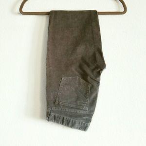 J. Crew Pants - J Crew gray skinny toothpick cords