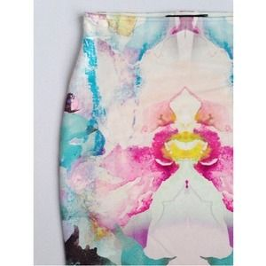 Orchid Burst Skirt