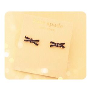 Kate Spade Double Bow Stud Earrings