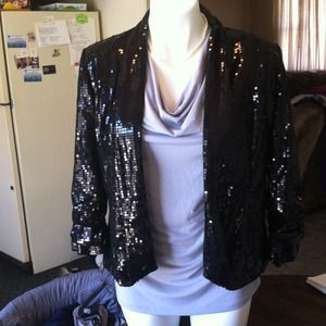 Dress Barn Jackets & Blazers - Sequin Blazer