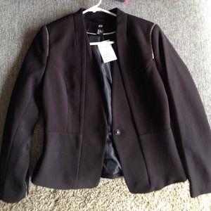 H&M blazer (black)
