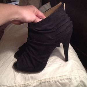 Nine West Shoes - Nine West Black Booties 8.5