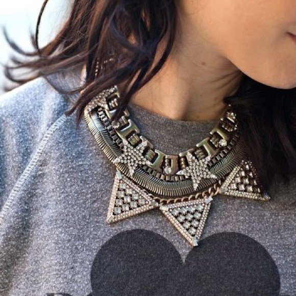 Baublebar Jewelry - HWTF x Baublebar Warrior Triad Necklace (Sold out)
