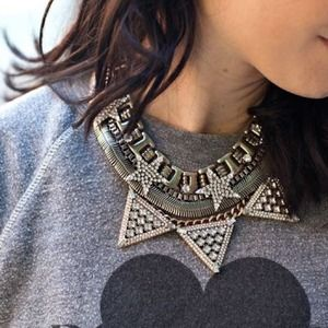 HWTF x Baublebar Warrior Triad Necklace (Sold out)