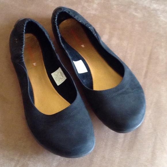Förort Utombordare Christ  Merrell Shoes | Reserved Vibram Black Suede Ballet Flats | Poshmark