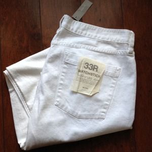 J. Crew Jeans - J.Crew white matchstick skinny jean