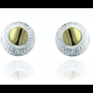 Jewelry - Unique Sterling & 24k Vermeil Earrings