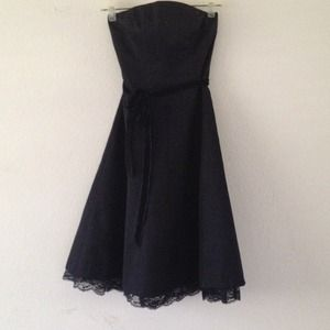 Express Dresses & Skirts - Strapless black dress