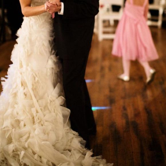 Wedding dress Lazaro !!