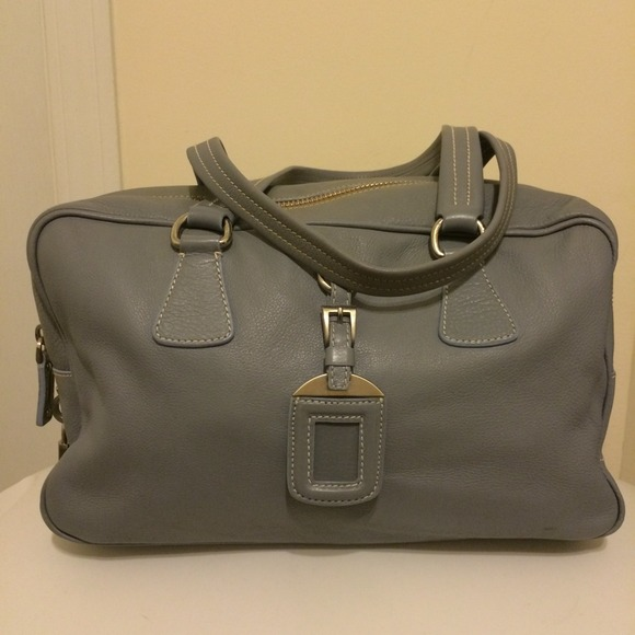 Prada - Authentic Prada BR2246 Leather Satchel from Donnaree\u0026#39;s ...