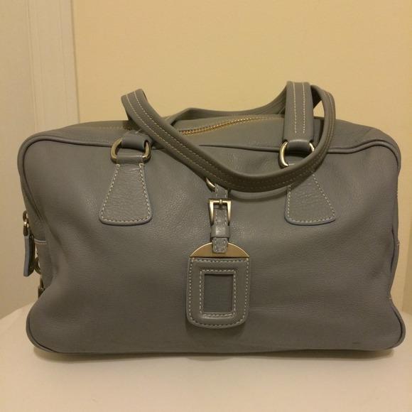 Prada - Authentic Prada BR2246 Leather Satchel from Donnaree\u0026#39;s ...