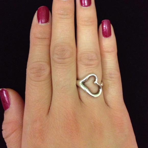 Open Heart Ring Tiffany Tiffany Replica Jewelry