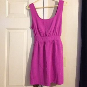 Forever 21 Dresses & Skirts - Cute dress in magenta!