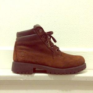 Timberland Boots Damene Brun jWeM3