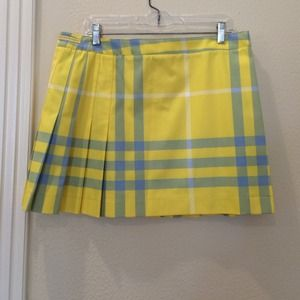 NEW Burberry Kilt Skirt
