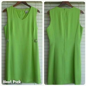 Vintage Dresses & Skirts - 4x HP  Retro Style Lime  Dress