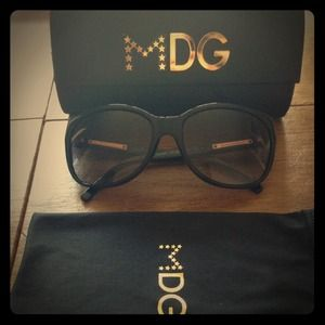Madonna for Dolce and Gabbana Cateye Sunglasses