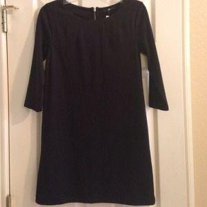 NWT H&M black tunic dress XS