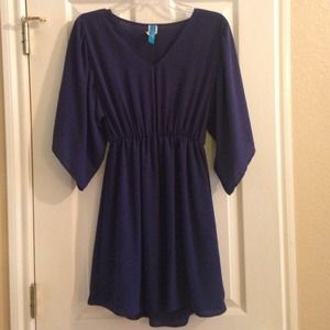 Dresses & Skirts - Boutique deep blue dress. Size small