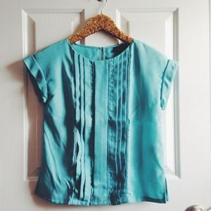 Jason Wu for Target Belize blue blouse