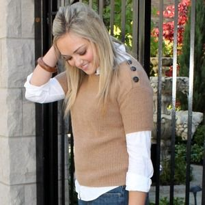 J.Crew Short Sleeve Sweater