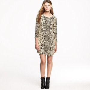 J. Crew Dresses & Skirts - J.Crew Leopard Dress