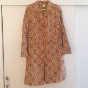 Anthropologie vintage inspired coat