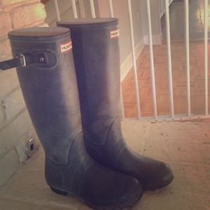 Hunter Boots! Size 8!