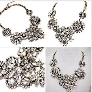Jewelry - Flower lattice statement necklace.  Gorgeous!!!!!