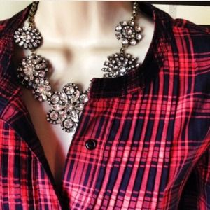 Jewelry - Flower lattice statement necklace.  Gorgeous!!!!! 4