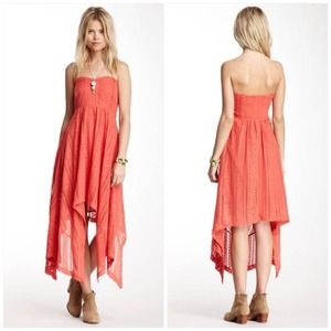 Free People Lace strapless maxi dress 4