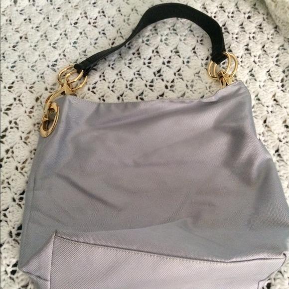 90ea99f5ba67 JPK Paris Handbags - JPK Paris 75 Bucket Bag Purse Silver Gray Nylon