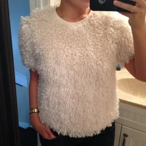 REDUCED Topshop Furry Top