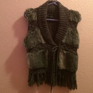Dollhouse Faux Fur vest
