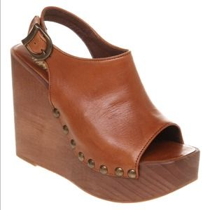 Jeffrey Campbell Shoes - Jeffrey Campbell Leather Wedges