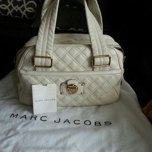 Authentic Marc Jacobs Ursula bowler handbag