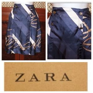Zara, Silk Skirt