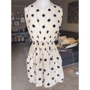 J. Crew Dresses & Skirts - Polka dot dress