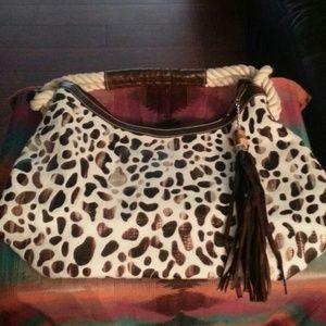 Leopard Tassel handbag