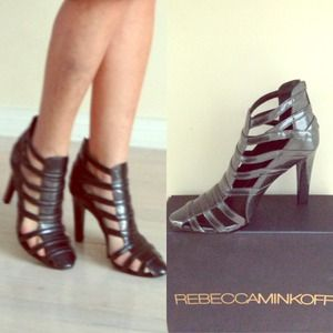 New leather Rebecca Minkoff booties