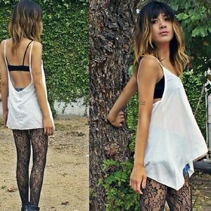 f5f950cc5d533 Brandy Melville Tops - Brandy Melville Blush Taupe Abrielle Low Back Tank