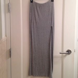 Nasty Gal Dresses & Skirts - Grey maxi skirt