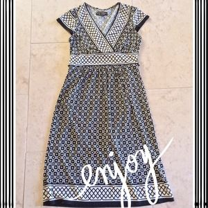 Dresses & Skirts - Black & White Dress