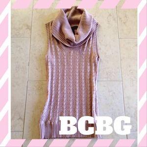 BCBGMaxAzria Sweaters - BCBG Cowl Neck Sweater Vest