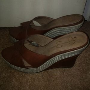 Jessica Simpson wedge