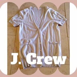 J. Crew Tops - J. Crew Factory Short-sleeve Cardigan