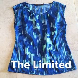 The Limited Tops - Blue & Green Top