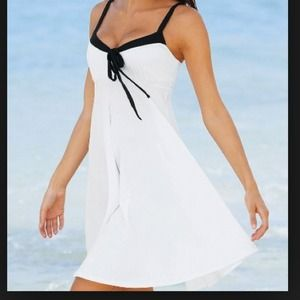 Victorias Secret White Babydoll Dress