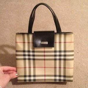 Burberry Nova Check small handbag